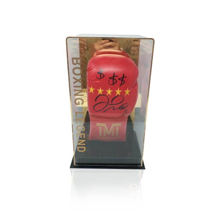 Floyd Mayweather Jr Branded Hand Signed Boxing Glove TBE TMT Money Proof RARE COA