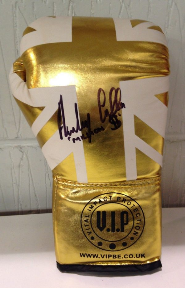 Anthony Crolla Signed Boxing Glove Million Dollar World Champion Proof RARE COA