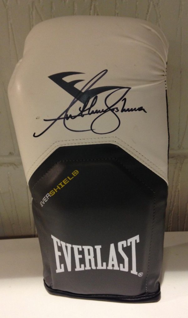 Anthony Joshua Signed Boxing Glove RARE COA