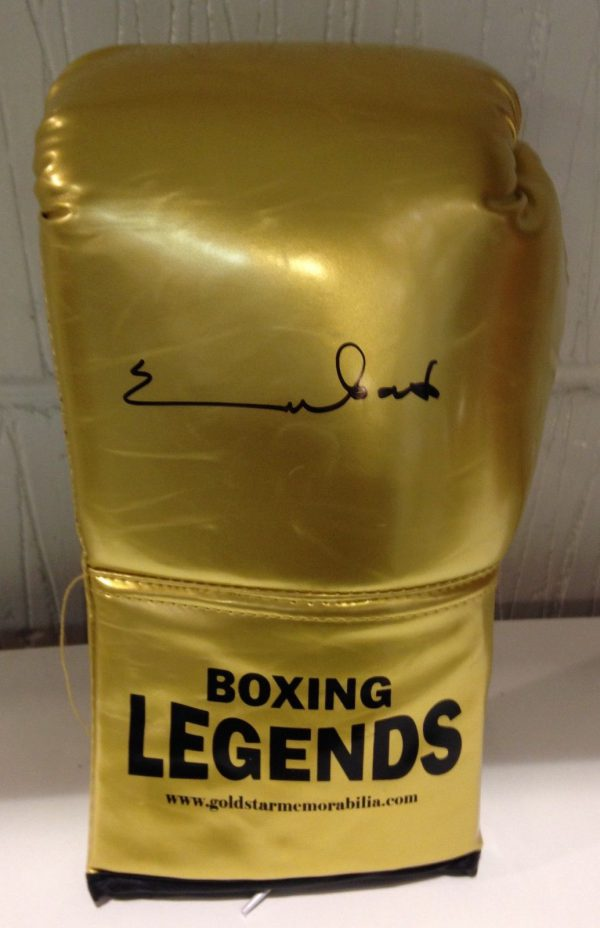 Chris Eubank Snr Hand Signed Boxing Glove RARE COA