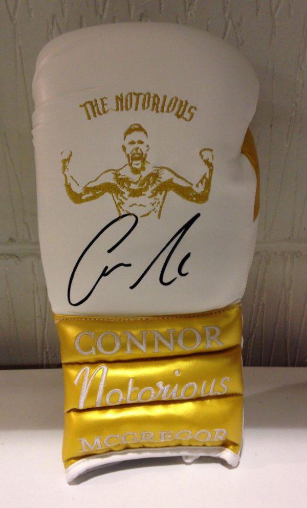 Conor McGregor Hand Signed Boxing Glove RARE COA