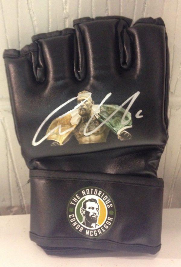 Conor McGregor Signed UFC Glove Notorious AFTAL COA