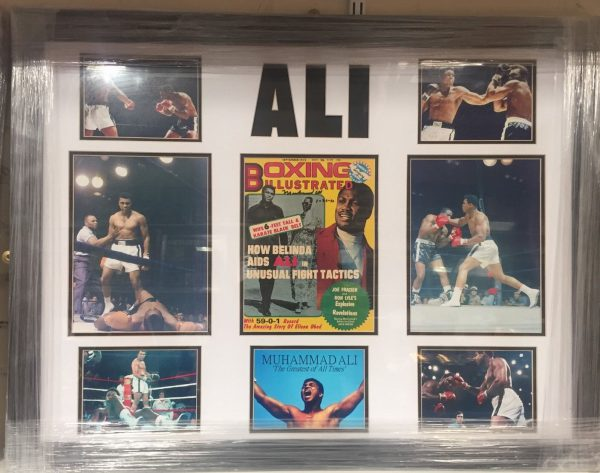 Framed Muhammad Ali Signed Boxing Illustrated Magazine The Greatest RARE COA