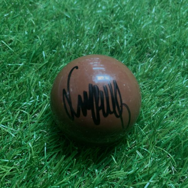 Jimmy White Signed Brown Snooker Ball The Whirlwind Snooker Legend COA