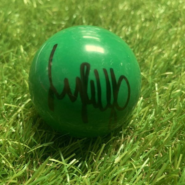 Jimmy White Signed Green Snooker Ball The Whirlwind Snooker Legend COA