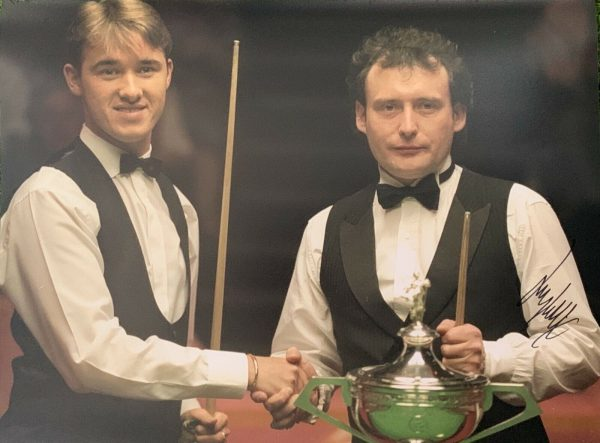 Jimmy White Signed Photo 16x12 The Whirlwind Snooker Legend COA