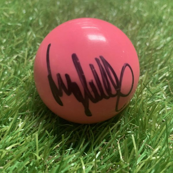 Jimmy White Signed Pink Snooker Ball The Whirlwind Snooker Legend COA