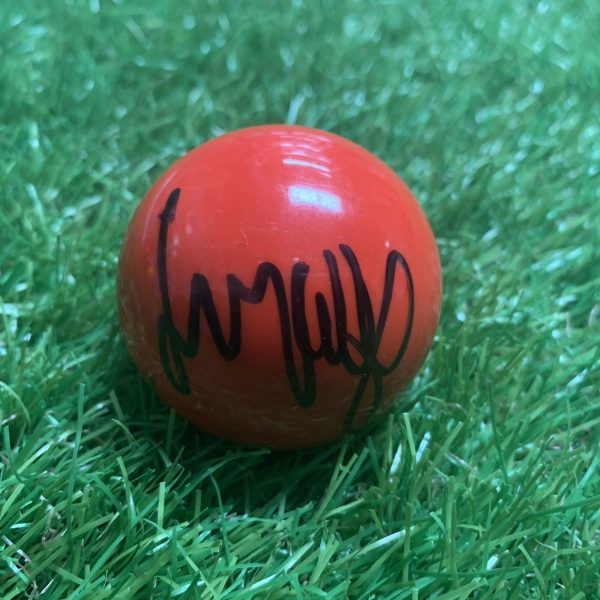 Jimmy White Signed Red Snooker Ball The Whirlwind Snooker Legend COA