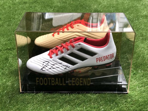 Paulo Dybala Signed Football Boot Juventus Argentina Display Case COA