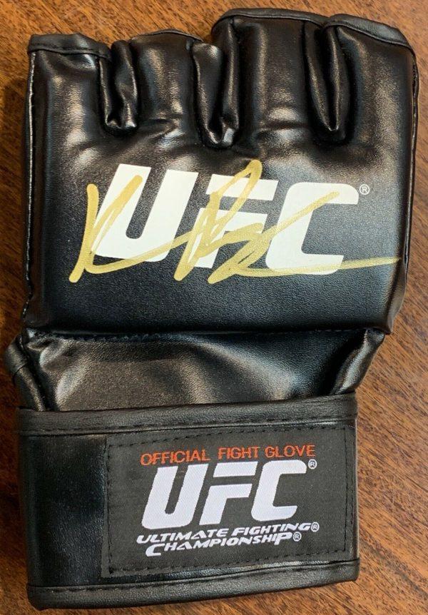 "QUINTON "" RAMPAGE "" JACKSON Signed UFC Glove AFTAL COA"