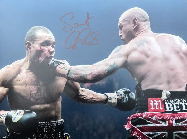 Saint George Groves Signed Photo 16x12 Coa Proof AFTAL