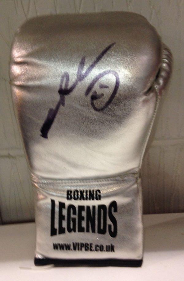 Sugar Ray Leonard hand signed boxing glove world champion RARE COA