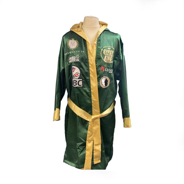 Exclusive Tyson Fury Official Hand Signed Replica Fight Robe V Deontay Wilder